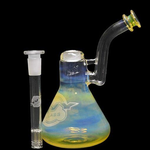 hvy glass bubbler